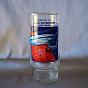 Dr Pepper Star Trek  U.S.S. Enterprise Collectors Glass