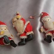 Vintage Christmas Santa Pixie