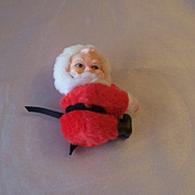 Vintage Santa Claus Christmas Ornament