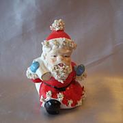 Vintage Ceramic Spaghetti Santa Claus