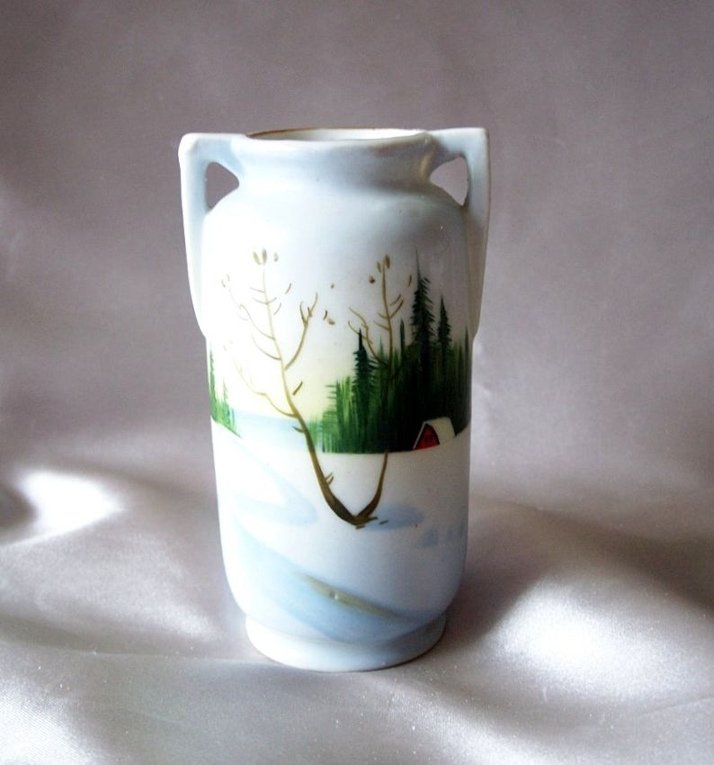 Made In Japan Hand Painted Vase