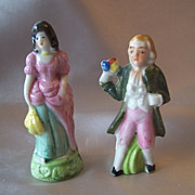 Made In Japan Man and Lady Figurines