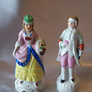 Made In Japan  Gentelman And Lady Figurines