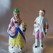 Made In Japan  Gentelman And Lady Figurines