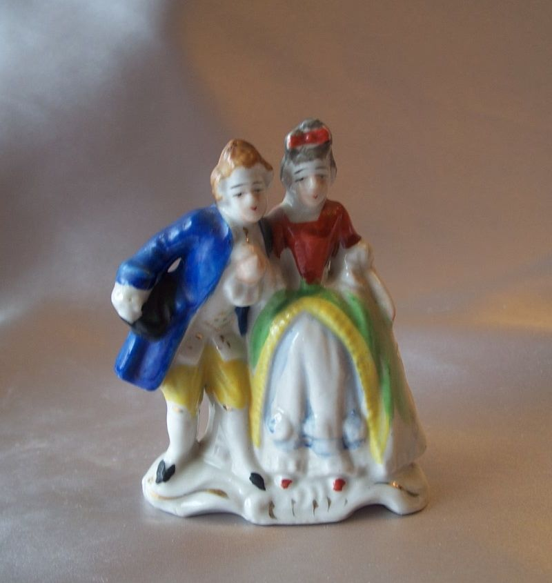 Man and Lady Figurine Made in Japan
