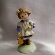 Addy Ceramic Little Girl Figurine