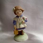 Addy Ceramic Little Girl Figurine