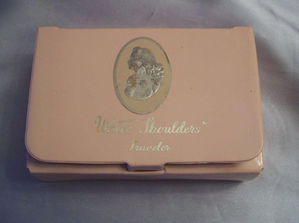Vintage White Shoulders Traveler Kit     Cologne