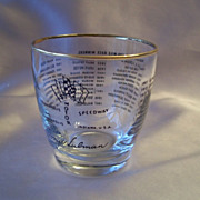 Indianapolis Motor Speedway Collector Glass