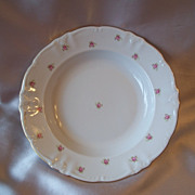 Winterling Bavaria Rosedot Soup Bowls