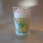 Tweety Bird Collector  Character Glass