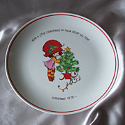 Mopsie Commemorative Edition  Collector Plate 1973