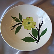 Joni  Hand Painted Dixie Dogwood Serving Bowl By  Stetson