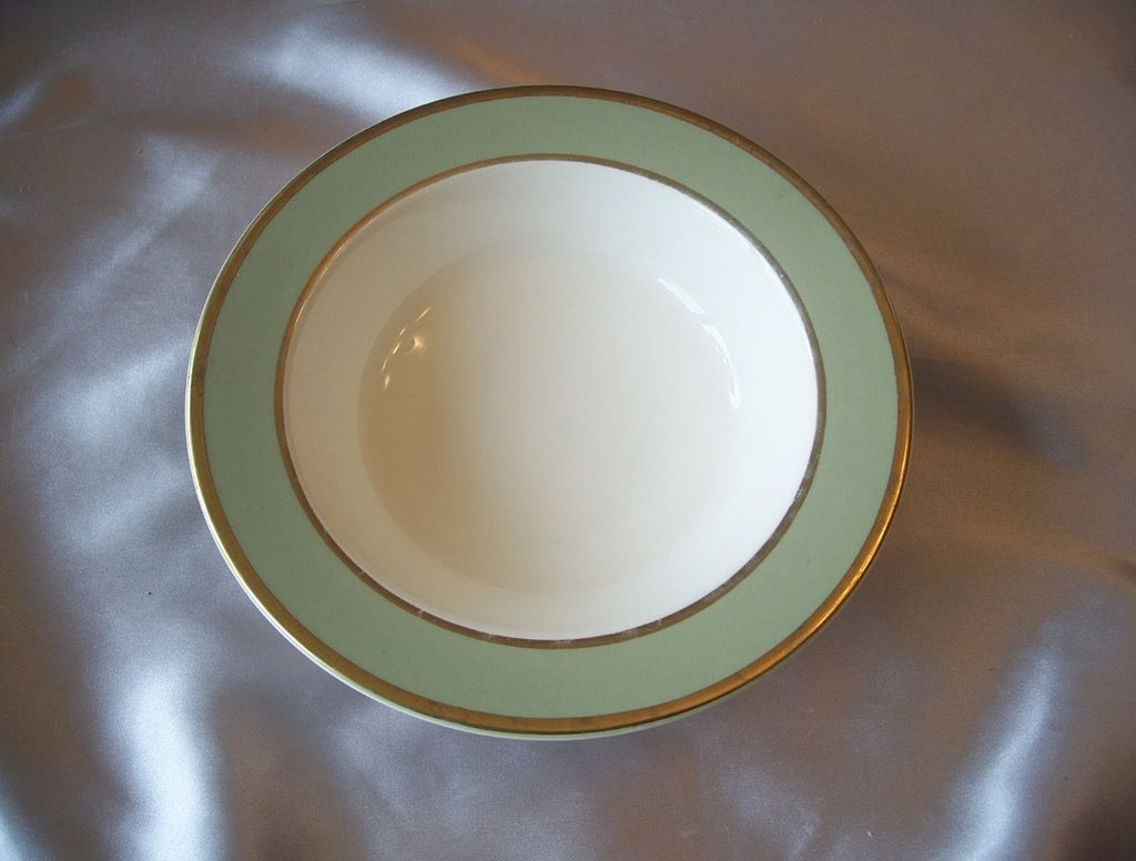 Taylor Smith Heritage Celadon Green Soup Bowls
