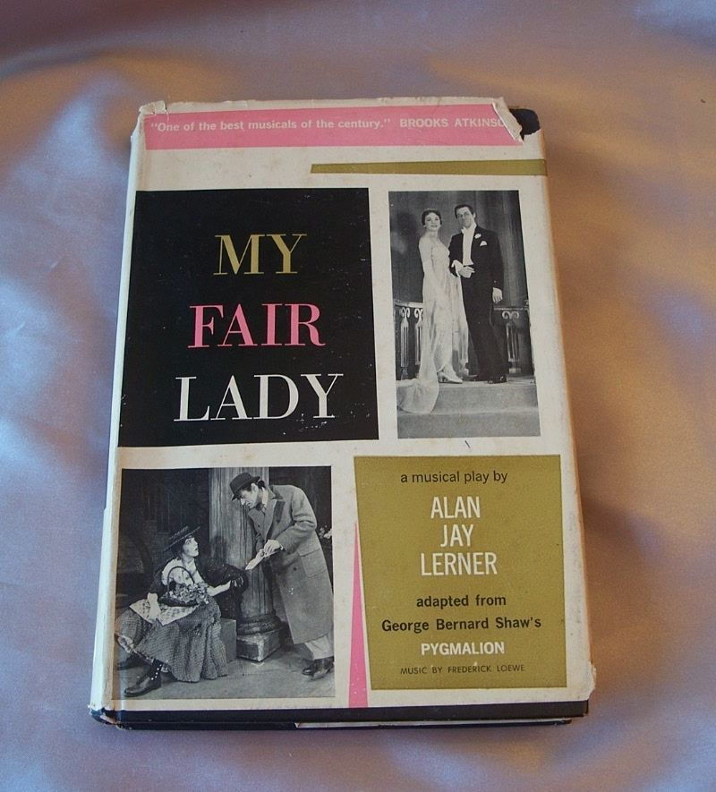 My Fair Lady Musical Play Book