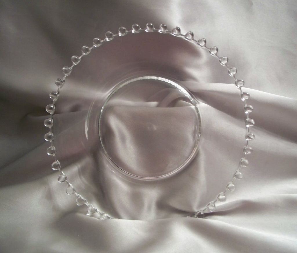 Imperial Candlewick crystal Salad Plate