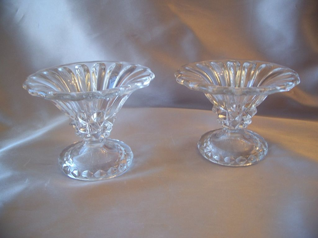 Elegant Crystal Candle Holders