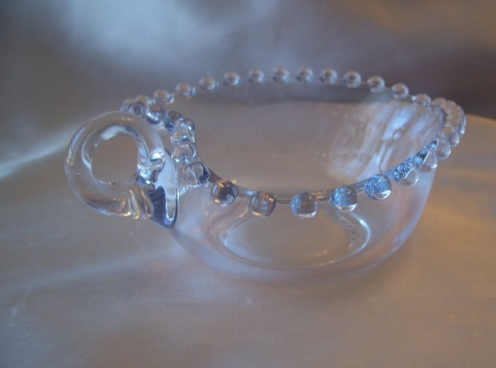 Crystal Imperial Glass Heart Shaped Dish