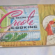 The Secret Of Creole Cooking Booklet