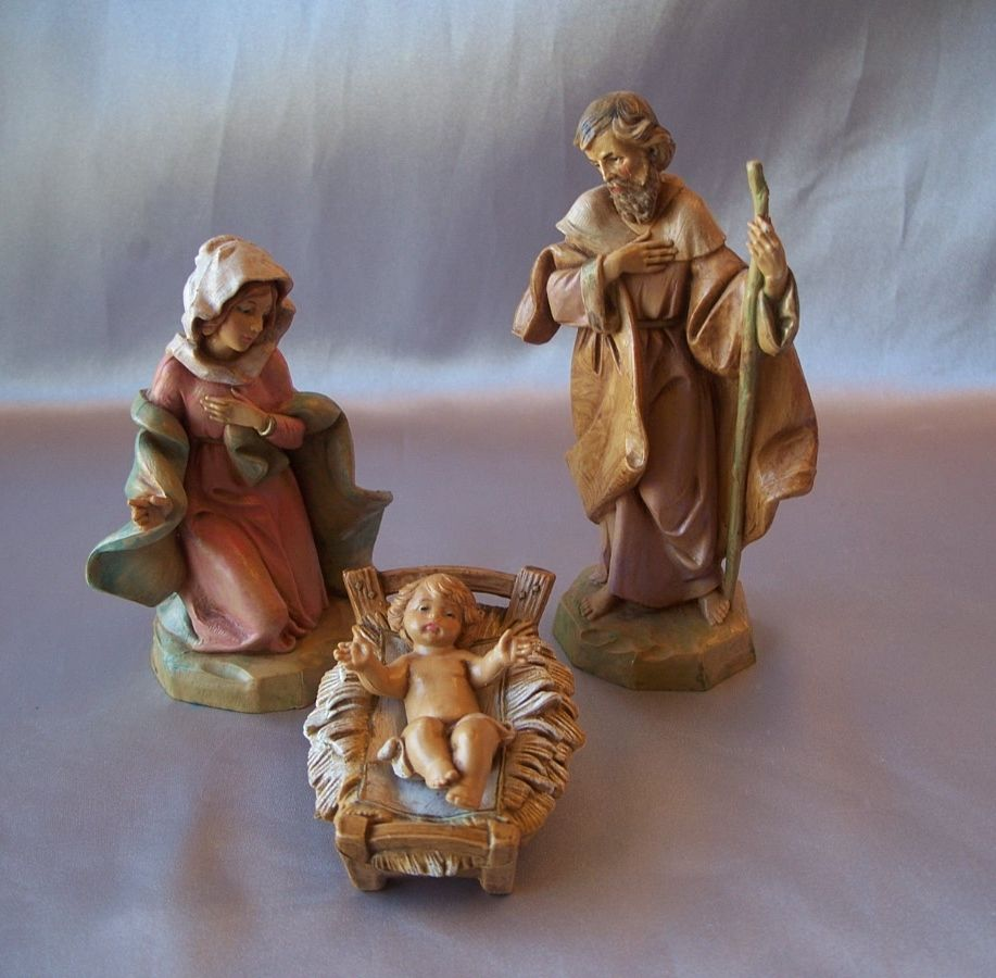 Fontanini Four Piece Nativity Sence