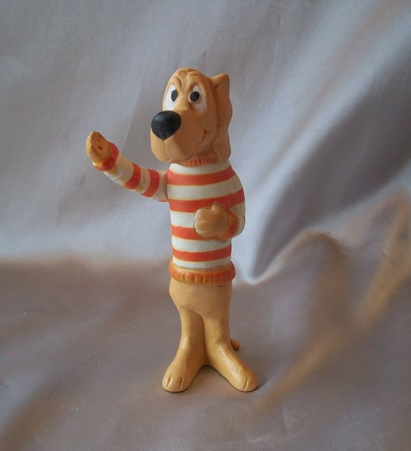 Walt Kelly Beauregard Hound Figure