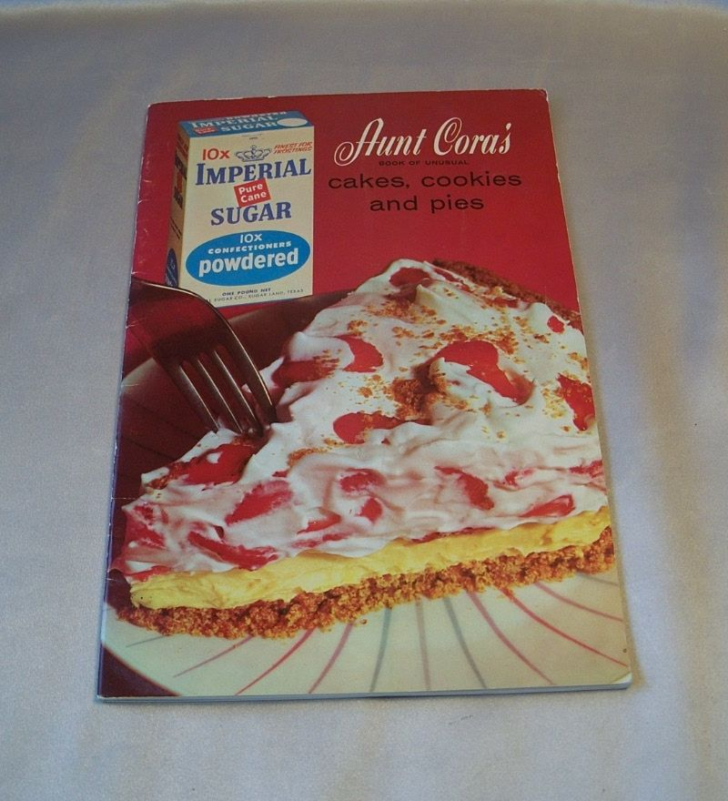 Imperial Sugar Aunt Cora's Book  Booklet