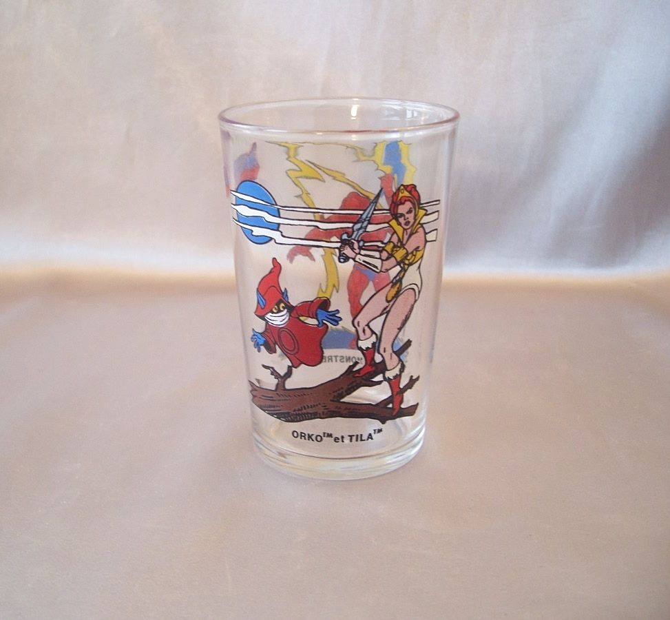 Mattel Masters Of The Universe French Collectors Juice Glass