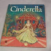 Vintage Wonder Book Cinderella