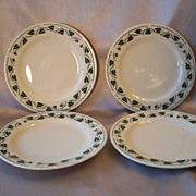Set of Four Homer Laughlin Plates