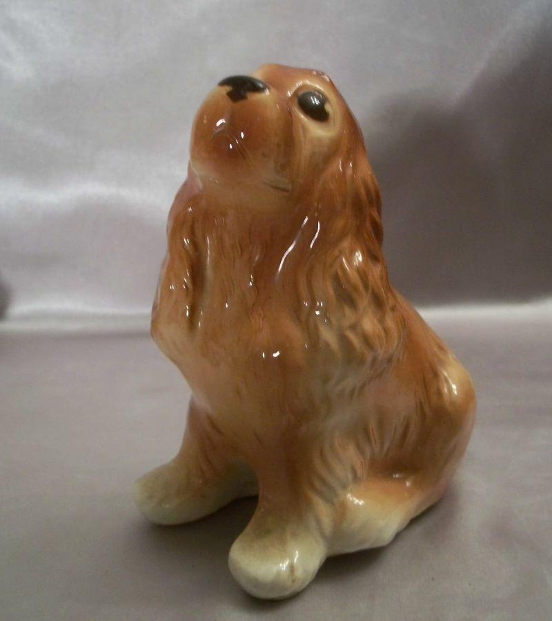 Royal Copley Ceramic Dog Figurine