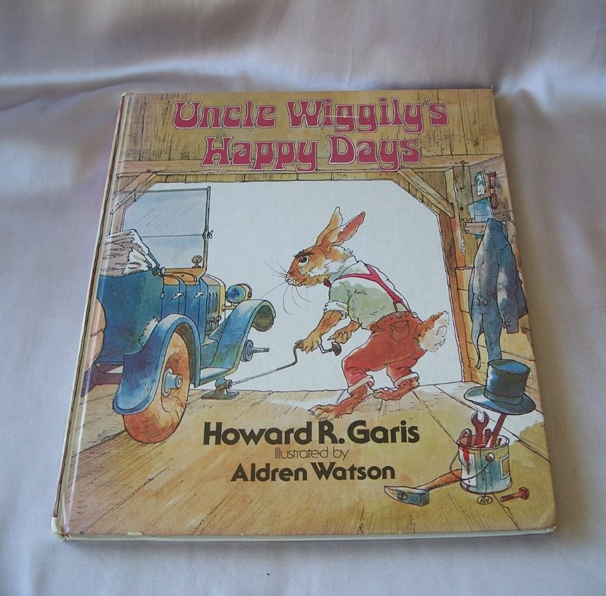 Uncle Wiggily's Happy Days by Howard R. Garis