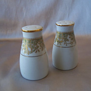 Noritake Porcelain Salt and Pepper Shakers
