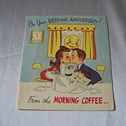 Wedding Anniversary Greeting Card