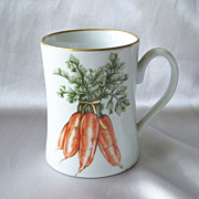 Fitz And Floyd Carrot Vegetable Harvest Mug