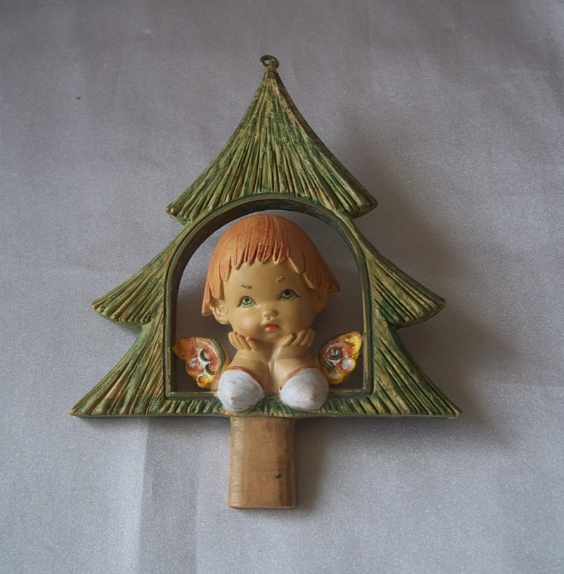 Early Fontanini Depose Christmas Ornament