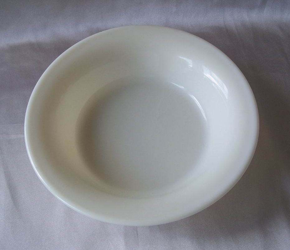 Corning Military Ivory Serving Bowl