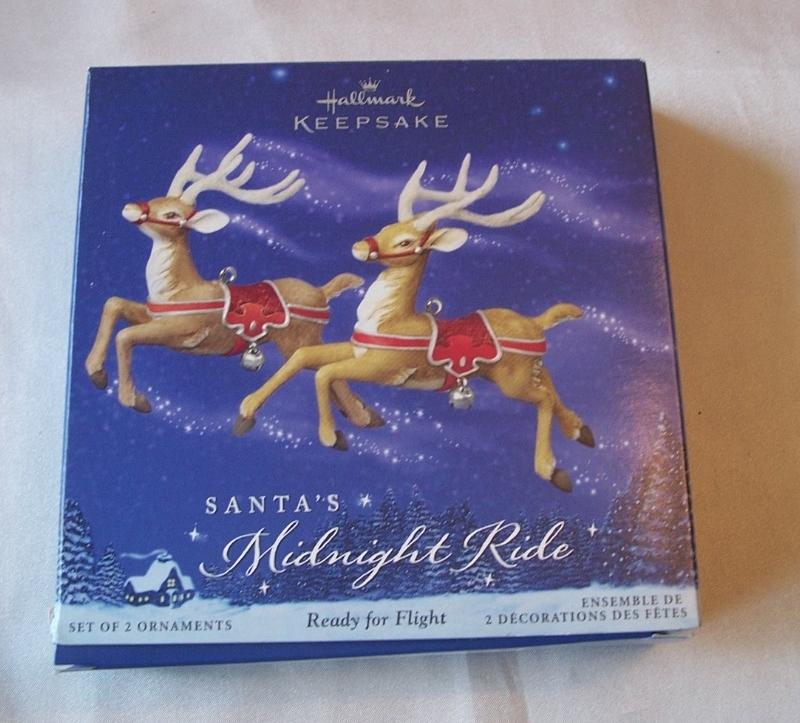 Hallmark Santa's Midnight Ride Ready For Flight Ornament