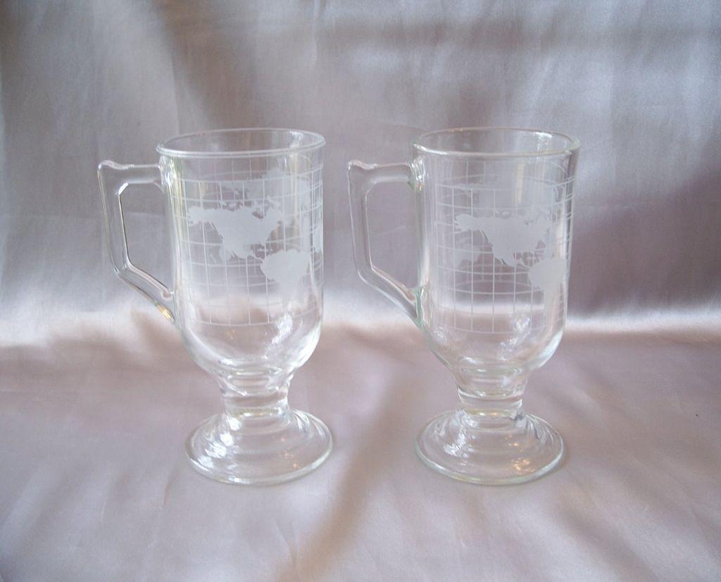 Two Nescafe  Irish Coffee Mugs