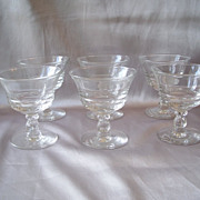 Fostoria Glass Century Crystal Sherbets