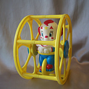 Larry Harman Picture Corp. Bozo the Clown in Rolling Wheel