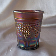 Northwood  Amethyst Grape and Cable tumbler