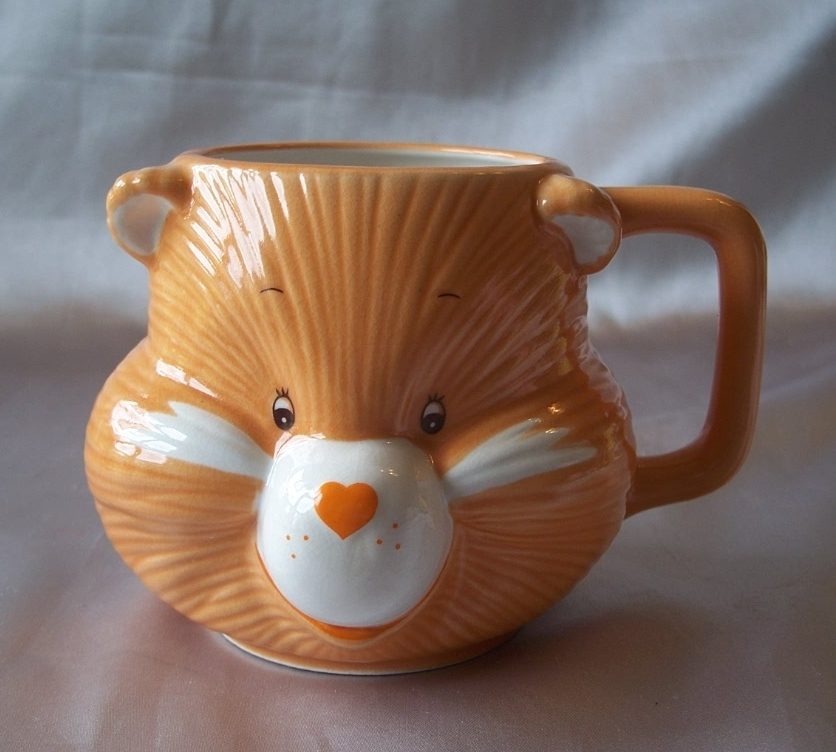 Care Bears Friend Bear Head Shaped Mug 1984