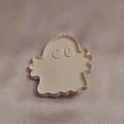 Hallmark Cards Halloween White Ghost Cookie Cutter 1976