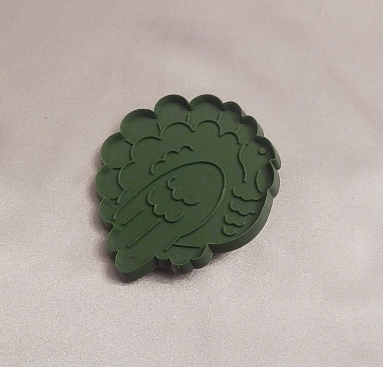 Hallmark Cards Thanksgiving Green Tom Turkey Cookie Cutter