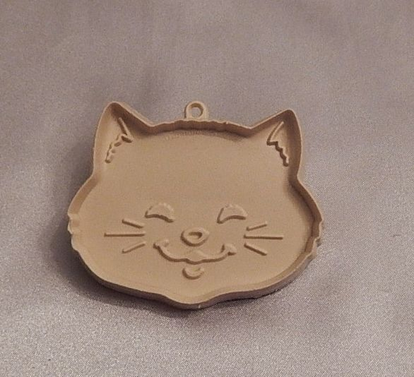 Hallmark Cards Kitty Cat Head Cookie Cutter From
