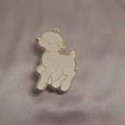 Hallmark Cards Running Lamb Cookie Cutter