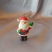 Hallmark  Santa Little Trimmer Ornament 1978