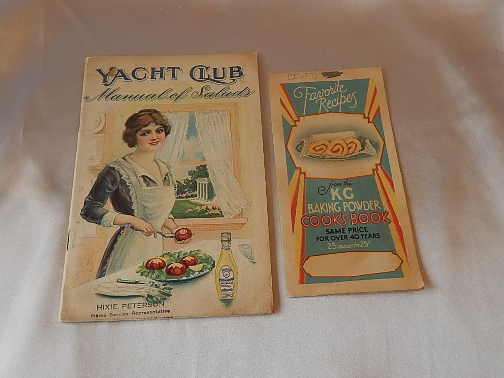 Yacht Club Manual of Salads 1914