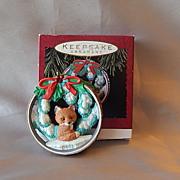 Hallmark 1993 Snowy Hideaway Christmas Ornament
