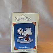Hallmark Keepsake  Frosty Friends  Ornament